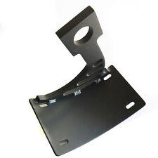 Black Side Mount Curved License Plate Bracket Tag Holder For 04-05 Yamaha YZF-R1