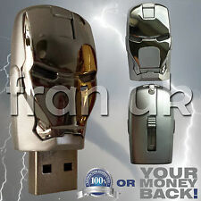 IRON MAN 32GB USB 2.0 Memory Stick Flash Drive Pen Storage MARVEL AVENGERS UK S