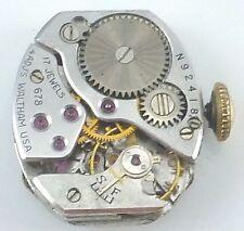 Vintage Waltham Wristwatch Movement - Grade 678 - Parts / Repair