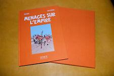 E.P. JACOBS-MENACES SUR L'EMPIRE-Edition de luxe toilée-399 exemplaires-NEUF