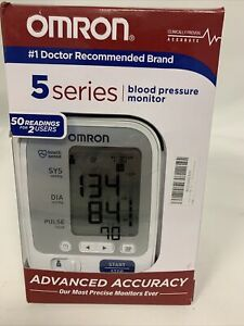 Omron 5 Series HEM-7131-Z Upper Arm Blood Pressure Monitor BP742N White
