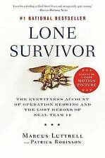Lone Survivor: The Eyewitness Account of Operation Redwing and the Lost Heroes of SEAL Team 10 by Marcus Luttrell (Paperback, 2008)