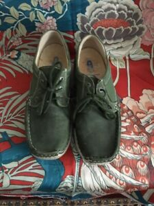 Wolky ladies shoes size 6 Green