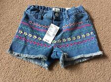 The Children's Place 12-18 mois brodé Shorts Denim
