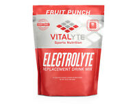 Vitalyte Electrolyte Powder Sports Drink Mix,80 Servings Fruit Punch SHIPS FAST!