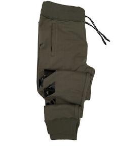 NWT $500 Philipp Plein Modern Men's Cotton Military Brown Sport Pants Size L