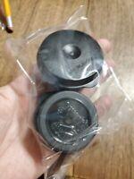 New TUPPERWARE Smidgets w/ Seals BLACK Set of 2 FREE US SHIPPING