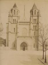 ND Phot France Dijon La cathédrale Saint-Bénigne Vintage albumen print, Tirage