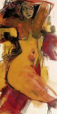 I. Moog - Frau Nackt Erotik Poster Kunstdruck (100x50cm) #42027