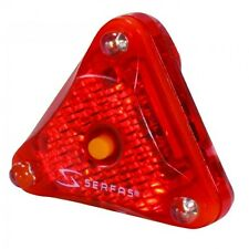 Serfas Bicycle Helmet Light / TailLight / Red Rear  - New LT222 LED