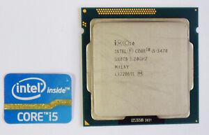 Processeur Intel CORE i5 - 3470 3.20GHz turbo 3,60GHz - 4 Cœurs - LGA1155