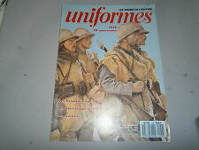 Revue uniformes figurine les volontaires de l'ouest les Stosstruppen 14 18 etc