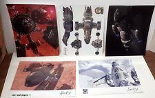 "Firefly/Serenity 8.5""x11"" Photo Print Set of 5- Lee Stringer"
