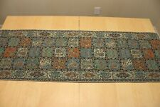 "Persian Termeh Rug Design Runner Tapestry Art Tablecloth Wall Hanging 61"" X 18"""