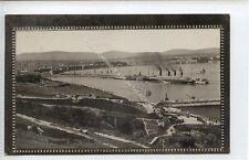 (Ga8338-477) Real Photo of Douglas Bay, Isle of Man 1910 VG