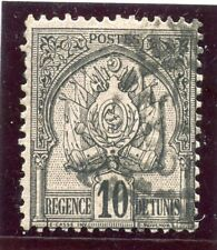 TIMBRE COLONIES FRANCAISES / TUNISIE OBLITERE N° 12