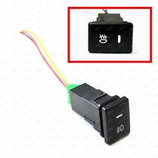 Factory Style 4-Pole 12V Push Button Switch w/ LED Background Indicator Lights