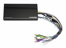 ALPINE KTA-450 400w 4-Channel Power Pack Amplifier Behind Radio/GloveBox Amp