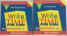 Teacher Created Materials Write Time for Kids Level 3 Teacher Resource & Lesson