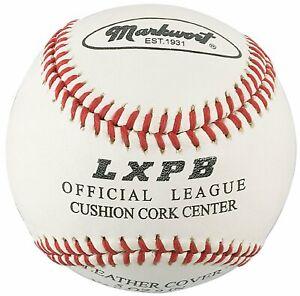 "Markwort Leather Cover 9"" Practice Baseballs (Dozen)"