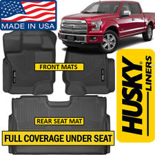 Husky Liners X-Act Contour 2015-2018 Ford F-150 SuperCrew Floor Mats Black