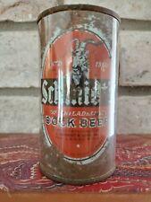 Schmidt's Bock beer 12 ounce flat top beer can Philadelphia