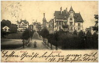 Karlovy Vary KARLSBAD um 1900/10 Strassen Partie im Westend alte Ansichtskarte