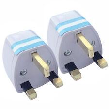 Universal EU US AU to UK AC Travel Charger Power Socket Conve Adapter Plug D7A1