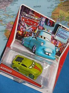 DISNEY WORLD OF CARS KOMODO AS SEEN IN TOKYO MATER ***BRAND NEW & RARE***