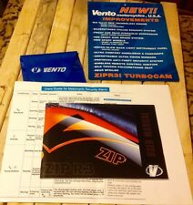 VENTO ZIP R3 ~ MOTORCYCLES / SCOOTER ~ USER MANUAL ~ USED COMPLETE