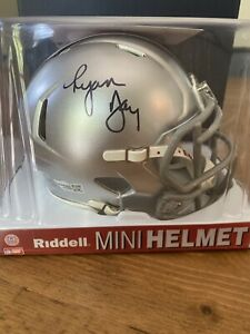 Ryan Day Autograph Signed Mini Helmet Ohio State - CFP 2019 2020 B1G - Fanatics
