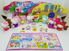 HELLO KITTY COMPLETE SET WITH ALL PAPERS KINDER SURPRISE 2017 FERRERO