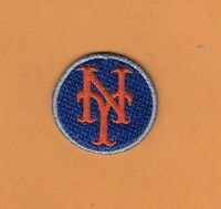 NEW YORK NY METS Small LOGO PATCH HAT POLO SHIRT BAGS BABY IRON ON Unsold Stock