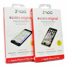 "ZAGG Invisible Shield Military Grade iPhone 6 4.7"" Screen Protector 6S Plus 5.5"""