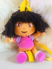 "12"" Dora The Explorer Plush Doll Backpack Show Character Girls Toys Purse Bag"