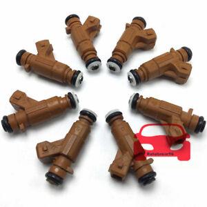8PCS Fuel Injector 0280156016 For Mercedes-Benz S500 S430 S350 E430 CLK500