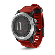 Garmin Fenix 3 Multisport Training Gps Fitness Watch Heart Rate Monitor Silver