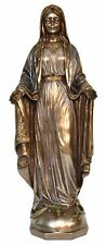 Religious Our Lady Mother Mary Christmas Statue Veronese Bronze Figurine
