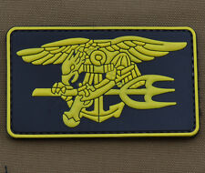 """PVC / Rubber Patch """"Seal Badge"""" with VELCRO® brand hook"""