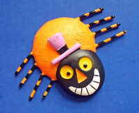 Hallmark MAGNET Halloween Vintage SPIDER ANTHROPOMORPHIC Holiday Fridge