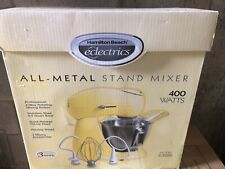 HAMILTON BEACH ELECTRICS ALL-METAL STAND MIXER 4.5Q 400 WATTS - Yellow