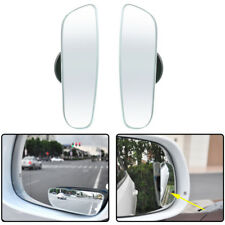 2x Universal 360° Car Wide Angle Convex Rear Side View Blind Spot Mirror
