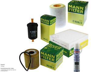 Mann-Filter + Liqui Moly Air for Smart Roadster
