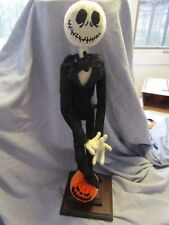 23'' Jack Nightmare before Christmas Chenille Doll Unique felt