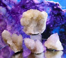 Lot Natural Spirit Cactus Fairy Quartz Crystals, Clusters, South Africa SP119