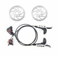 Shimano SLX M675 Brake Set Hydraulic Disc Brake Cooling Fins+RT56 Rotors