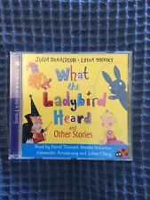 What the Ladybird Heard and Other Stories CD, Like New, Donaldson, Julia Book