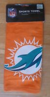 WinCraft  McARTHUR Miami Dolphins 15'' x 25'' Sports Golf Towel - NFL
