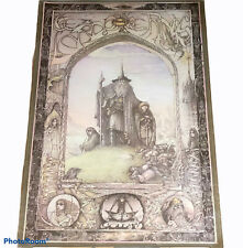 Vintage Jimmy Cauty Lord of the Rings Poster Athena International J R R Tolkien