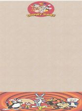 NEW Bugs Bunny Looney Tunes Letterhead Printable Stationery Paper 26 Sheets